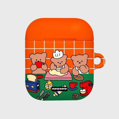 Cooking nini-orange/green(Hard air pods)