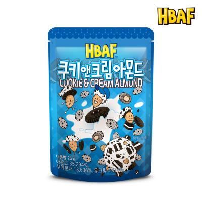 [길림양행] 쿠키앤크림 아몬드 25g