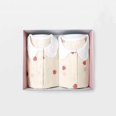 메르베 플럼플럼 돌선물세트(7부내의+수면조끼)여름용