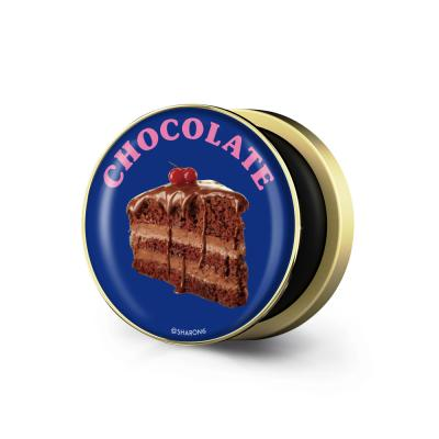 샤론6 골드 원형 그립톡 초코케이크