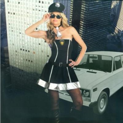 섹시 경찰복  탑원피스 할로윈 여성 코스프레 의상