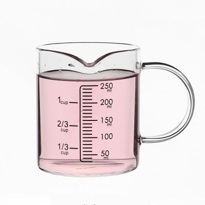 [로하티]쿠킹 유리 계량컵(250ml)