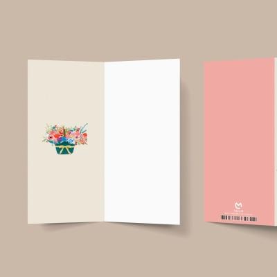 [카드봉투] 사랑합니다 오래오래 캘리그라피 봉투