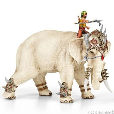 기수와 전투 코끼리