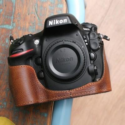 씨에스타 D800 가죽케이스 - 지아노 레드브라운(니콘D800전용)