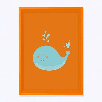 주폴라 마로 오렌지/ 아이방 북유럽 인테리어 액자