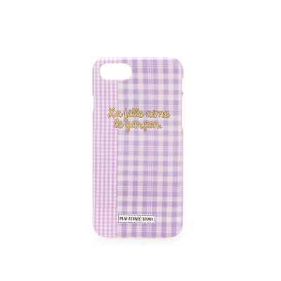 PFS iPhone 010 Check Violet