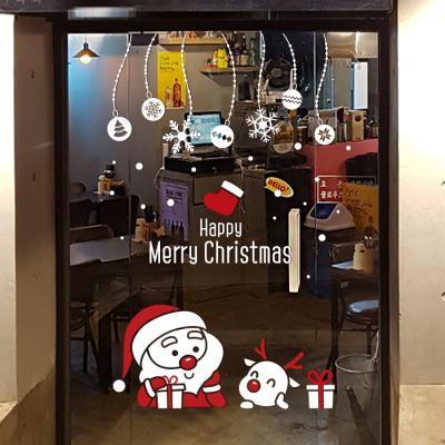 제제데코 크리스마스 눈꽃 스티커 장식 CMS4J204