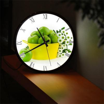 ng300-LED시계액자35R_풋사과와하얀꽃
