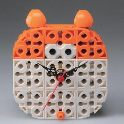 햄스터 블럭시계 (170185) 블럭레고형시계,조립시계