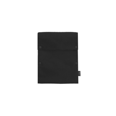 Two button book pouch_Black