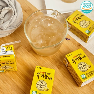 [자연의달콤함] 정성가득 유기농 진짜식혜 135mlx24팩
