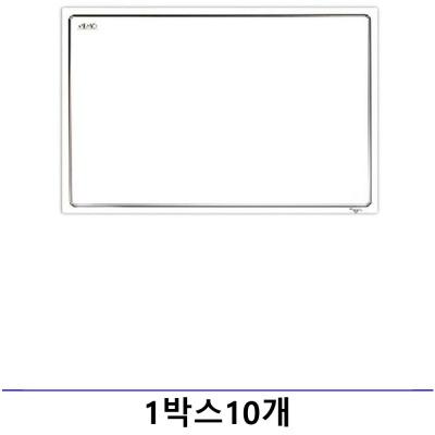 마그피아 고무자석 화이트보드 400x300mm 1박스10개