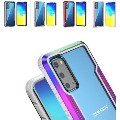 아이폰11 PRO XR X XS SE2 아머범퍼 투명 하드 케이스