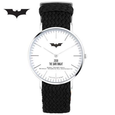 [디씨코믹스] 배트맨 위빙스트랩밴드 DC0080-SVWK 본사정품