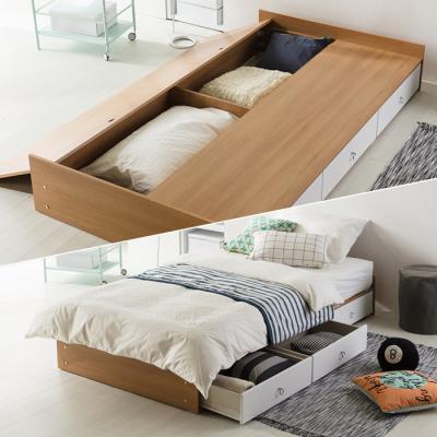 인터데코 서랍수납 침대 수퍼싱글 (라텍스포켓매트) OT017C