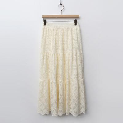 Gimo Lace Cancan Long Skirt