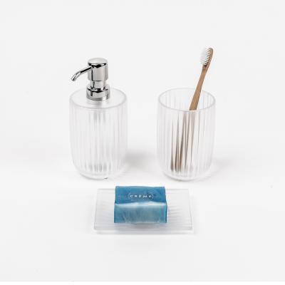 독일 켈라 라미나 욕실용기 3종세트 화이트