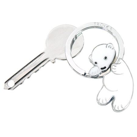 [TROIKA] POLAR BEAR 북극곰 키홀더 (KR8-03/WH)