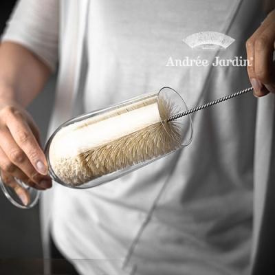 프랑스 앙드레자르뎅 물병 보틀 컵세척 브러시