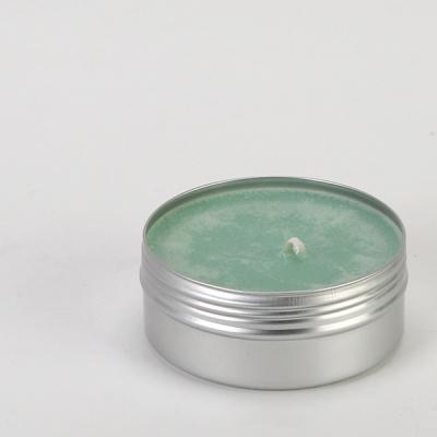 틴 케이스 캔들 150g(그린-잉글리쉬페어프리지아)