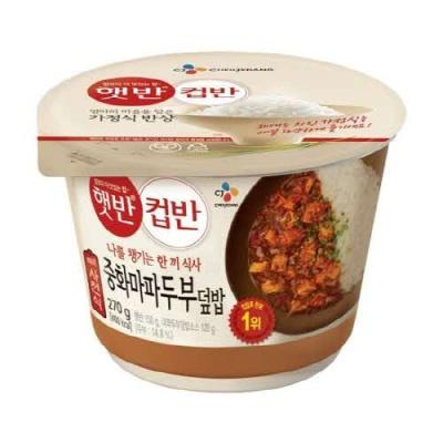 [CJ제일제당] 한끼 식사 중화마파두부덮밥 270gx3개