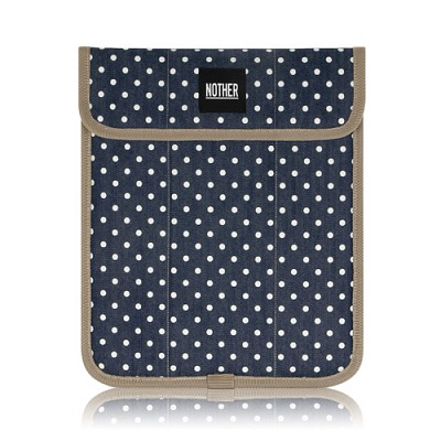 nother Sleeve Pouch for iPad / 나더 애플 아이패드 파우치 (Dot/Deep Blue)