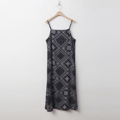 Paisley Cami Maxi Dress