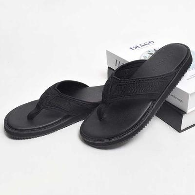 MAN summer 굽2.5cm 발편한 쪼리 블랙 CH1733852