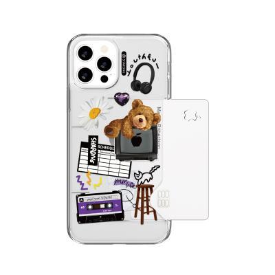 샤론6 카드 쏙 케이스 해피베어