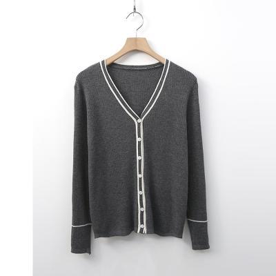 Wool Rubia V-Neck Cardigan