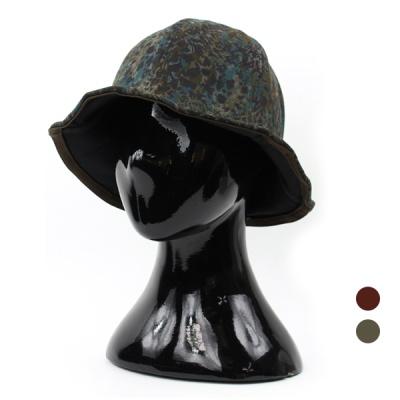 [디꾸보]물나염 와이어 버킷햇 벙거지 모자 ET739