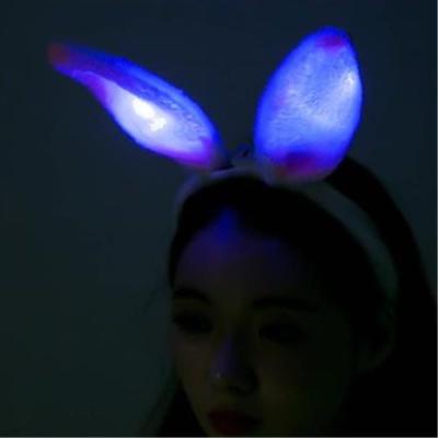 LED램프 토끼귀 머리띠 헤어밴드 이벤트소품 생일파티