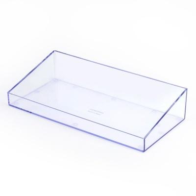 다용도 투명 사각 수납선반 다용도정리함 수납함