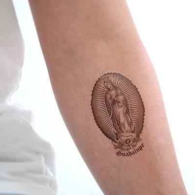 Virgen De Guadalupe 패션타투