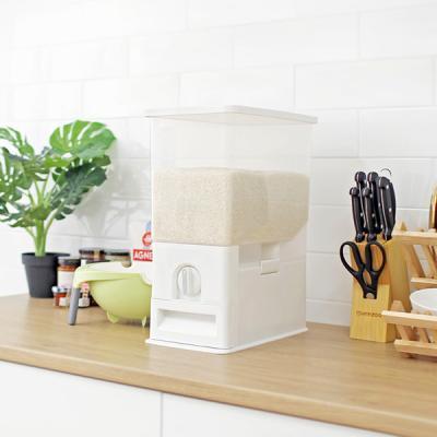 밀폐형 벌레방지 방습필터 자동계량 10Kg쌀통 M365
