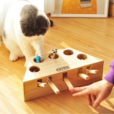 고양이 용품 장난감 냥펀치 사냥 CT-7777 버튼