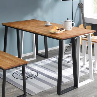 심플 라인 원목 테이블 1800x760