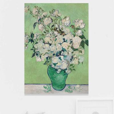 주문제작 액자 Gogh A Vase of Roses 594x841x30mm