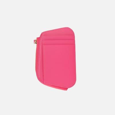 Reims Pebble Card Wallet Strawberry Pink 페블 카드 월렛 스트로베리핑크