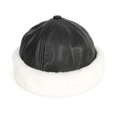 [디꾸보]인조양털 볼캡 레자 방한모자 AC479
