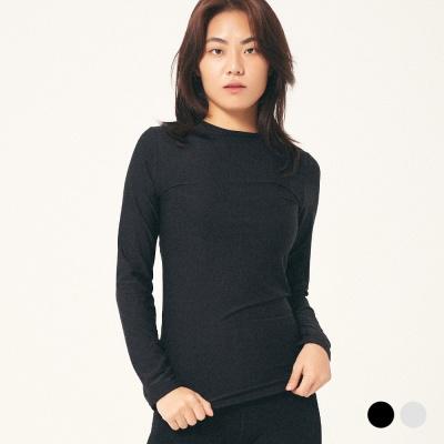 (여성) 이너 히트 라운드 티셔츠 2COLOR