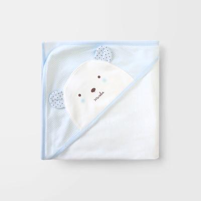[메르베] 곰돌이M 신생아속싸개_사계절용