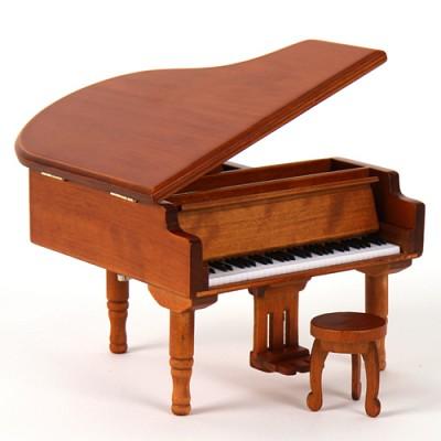 New 그랜드 피아노 오르골(원목)