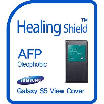 [힐링쉴드] 갤럭시S5 정품 뷰커버 AFP 올레포빅 액정보호필름 2매(HS140243)