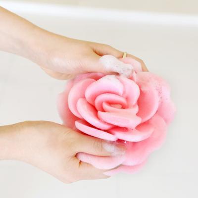 [BathCul] 샤워용 플라워 스펀지