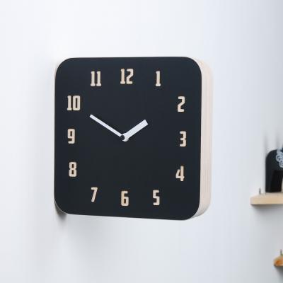 [하이모리] 타임데코 모던 레트로 우드 양면시계 B&R [월클락/인테리어소품/벽시계]