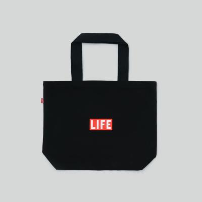 LIFE SHOPPER BAG_BLACK