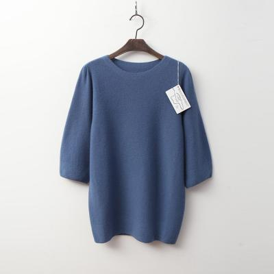 Laine Cashmere N Wool Puff Sweater - 7부소매