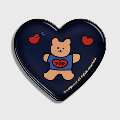 Bear heart-navy(hearttoktok)